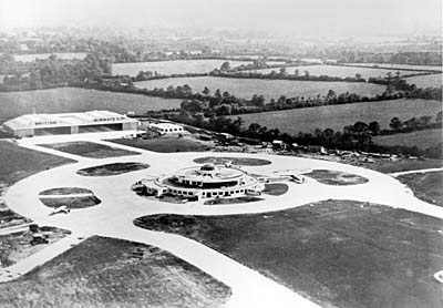 Gatwick Airport in the 1930's
